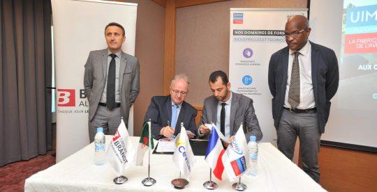 L'AFORP et Brandt Algérie : partenariat